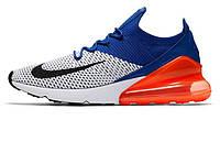 Мужские кроссовки Nike Air Max 270 Flyknit Racer Blue