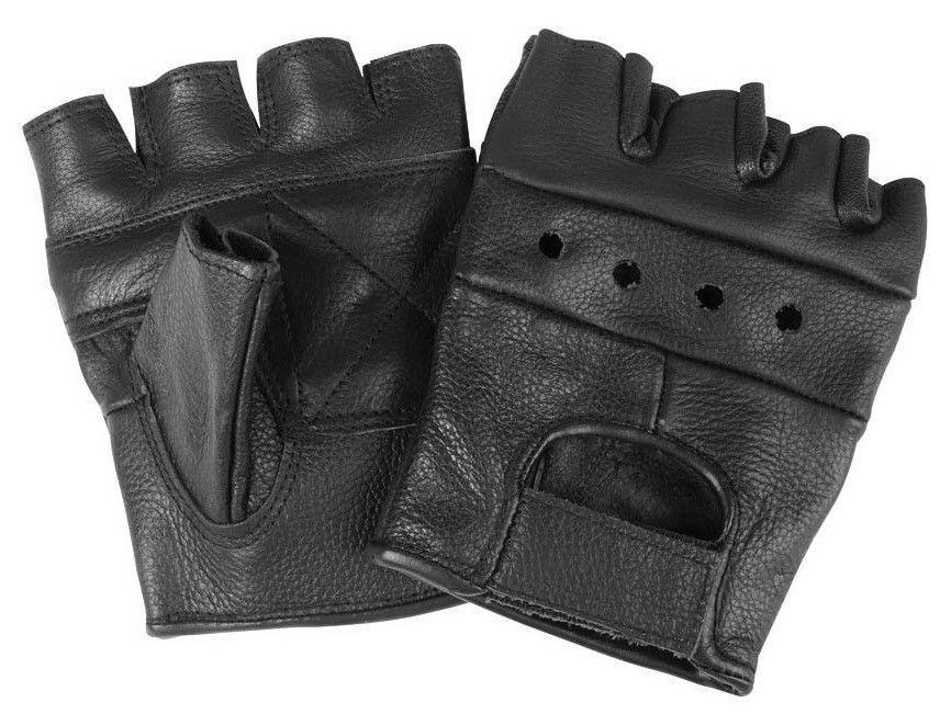 Перчатки для тяжёлой атлетики без пальцев. Кожа. Размер: S, М, L, XL, XXL.