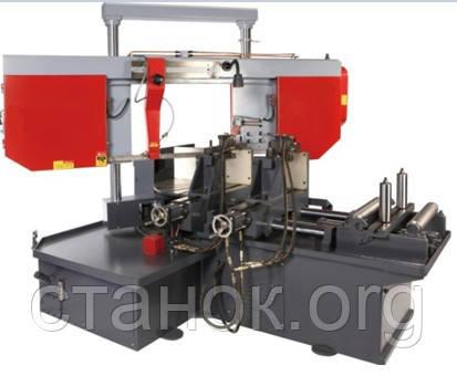 FDB Maschinen SGA 400 RA ленточнопильный станок по металлу полуавтоматический двухколонный поворотный фдб сга