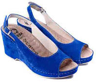 Ортопедические женские босоножки MUBB 505 синий