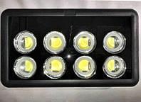 Высокомощный светодиодный led прожектор 400 Ватт как вариант освещения больших территорий.