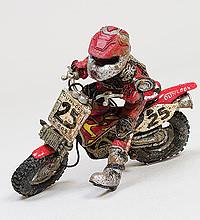 Моделька мотоцикла Mud Warrior SCAR-69B