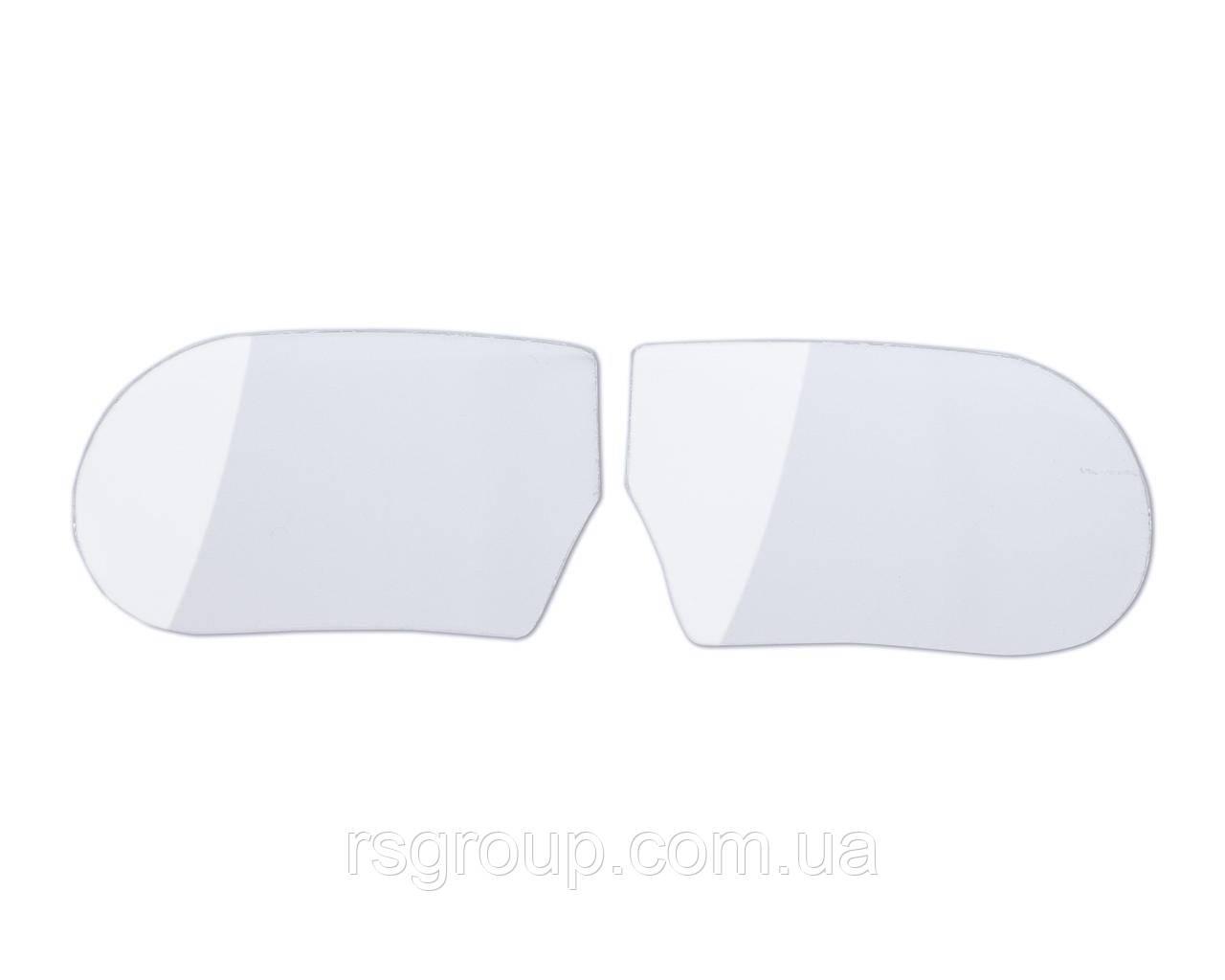 Стекло прозрачное изогнутое на очки ЗП-12 (пара)