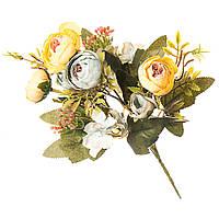 Букеты из искусственных цветов 30 см