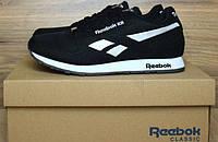 Кроссовки Reebok Classic черного цвета