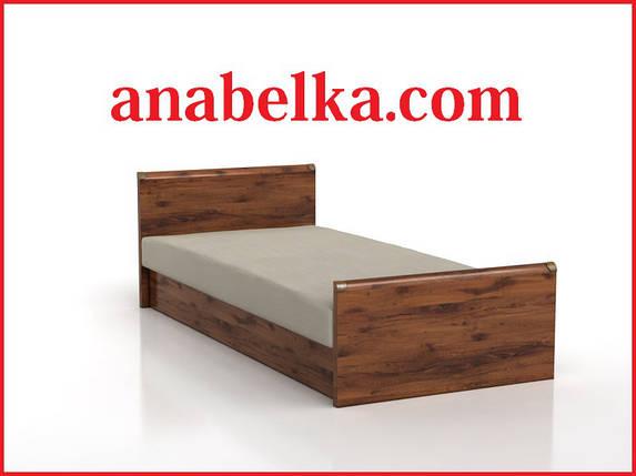 Кровать ИНДИАНА JLOZ 90 (каркас+ламели) (БРВ-Украина) Доставка по Киеву бесплатно, фото 2