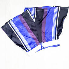 Шорты полосатые сине-фиолетовые-511-618-3, фото 2