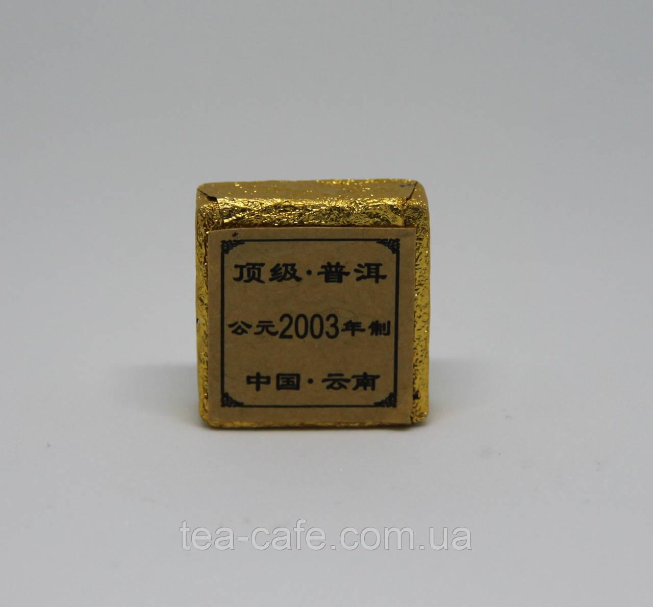 Чай Пуер Шу (чорний 2003р.) порційний 5гр