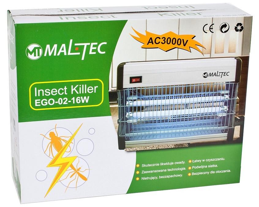 Мухоловка. Уничтожитель насекомых Maltec EGO-02-30 Вт. (Польша).