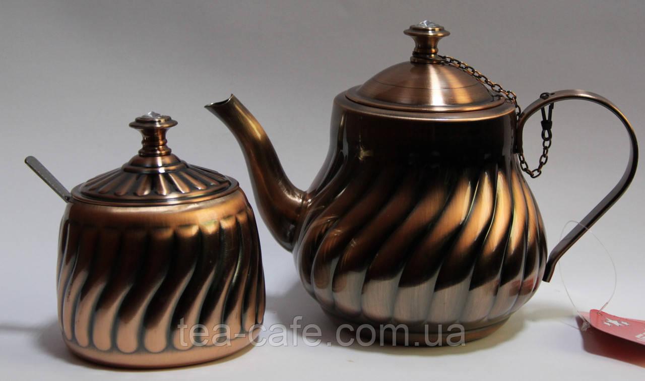 Набор из чайника 1300мл и сахарницы Vesta BG-40C