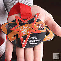 Медаль КУБОК ХАРЬКОВА ПО БОДИБИЛДИНГУ ФИТНЕСУ И АТЛЕТИЗМУ, фото 1