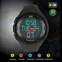 M-Tac часы тактические с шагомером олива 50001001, фото 1