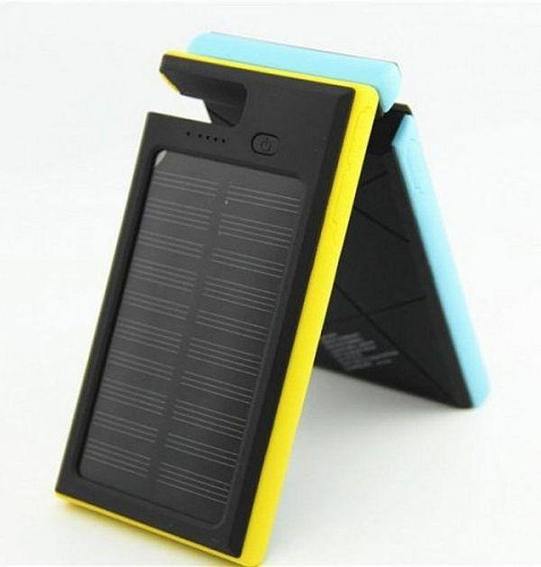 Power Bank Solar 54000 mAh Dls16 с солнечной панелью, Led лампой
