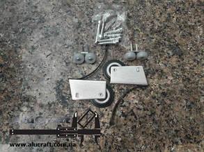 Ролики для дверей шкафа купе | Симметричный для закрытой формы ручки