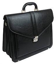 Мужской портфель из эко кожи Arwena Польша T0016 черный