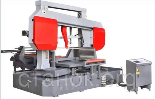 FDB Maschinen SGA 600 RA ленточнопильный станок по металлу автоматический двухколонный поворотный фдб сга, фото 2