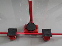 Сверхмощные управляемые платформы скейты X4+Y4, грузоподъемность 8 тн (комплект из 3 тележек)