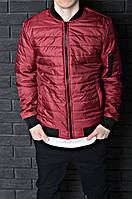 Демисезонная куртка, бордовая