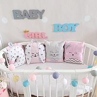 Комплект детского постельного белья Chudiki розовый