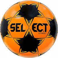 Мяч футбольный SELECT Street оранж/черный, р.5