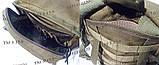 Тактический, штурмовой рюкзак с отсеком под гидратор олива, фото 5