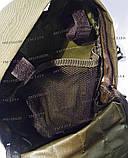 Тактический, штурмовой рюкзак с отсеком под гидратор олива, фото 6