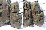 Тактический, штурмовой рюкзак с отсеком под гидратор олива, фото 7