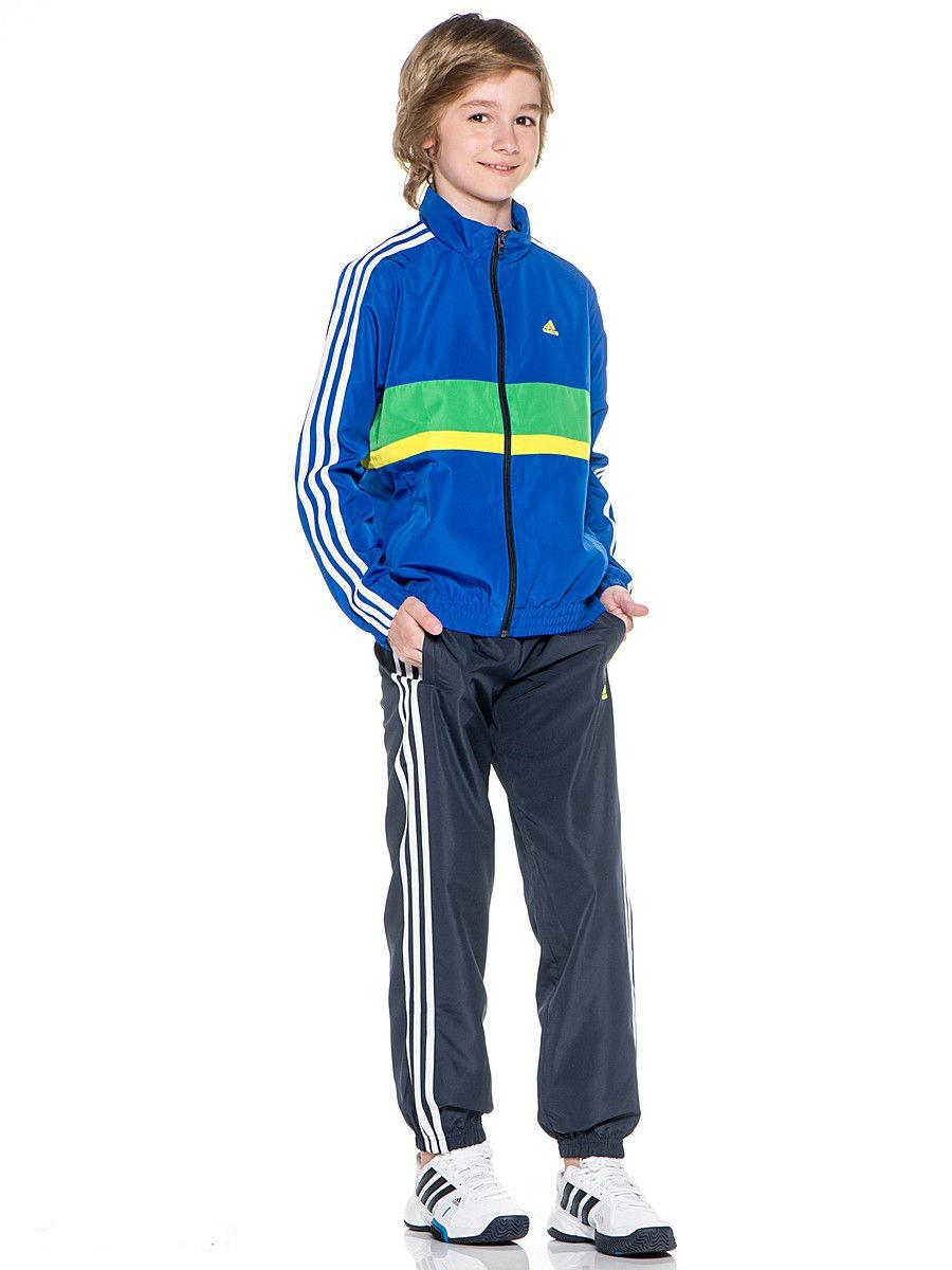 Оригинальный подростковый спортивный костюм Adidas YB TS KSP WV CH