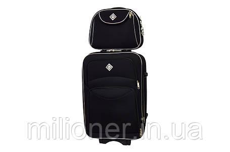 Комплект чемодан + кейс Bonro Style (большой) черный, фото 2