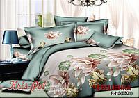 Евро макси набор постельного белья 200*220 из Ранфорса №186801 KRISPOL™