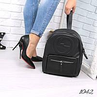Рюкзак женский  Gucci черный 1042 , магазин рюкзаков, фото 1