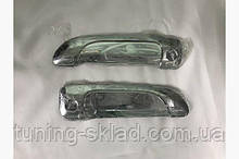 Хром накладки на ручки Honda Civic Sedan VII 2001-2006 (Хонда Сівік )
