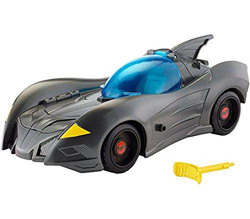 Mattel Машинка бэтмобиль Лига Справедливости DC Justice League Action Attack & Trap Batmobile