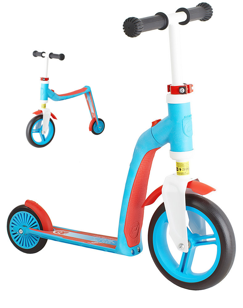 Самокат Scoot&Ride серии Highwaybaby сине-красный, до 3 лет/20 кг (SR-216271-BLUE-RED)