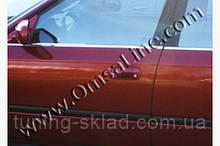 Хром зовнішня окантовка вікон Honda Civic Sedan VII 2001-2006 (Хонда Сівік )