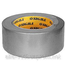 Лента армированная (серая) 50мм×50м Sigma (8419101)