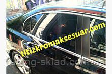 Хром повна окантовка вікон Honda Civic Sedan VIII 2006-2011 (Хонда Сівік )