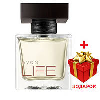 Avon Life for Him 75 ml чоловіча туалетна вода (Ейвон Лайф)