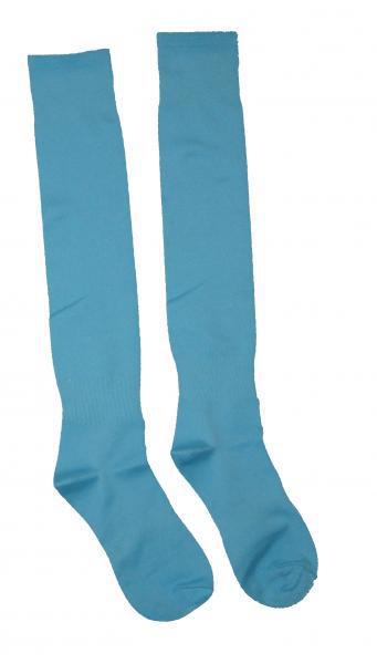Гетры Europaw с трикотажным носком (светло-голубые) C-501