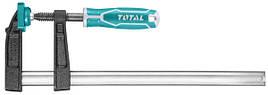 Струбцина TOTAL THT1320503 столярна, стиснення 250мм, 170кг