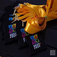 """Медаль акриловая """"Kharkiv Best Fest"""" , фото 1"""