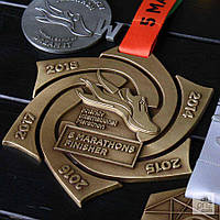 Медаль 5 MARATHONS FINISHER