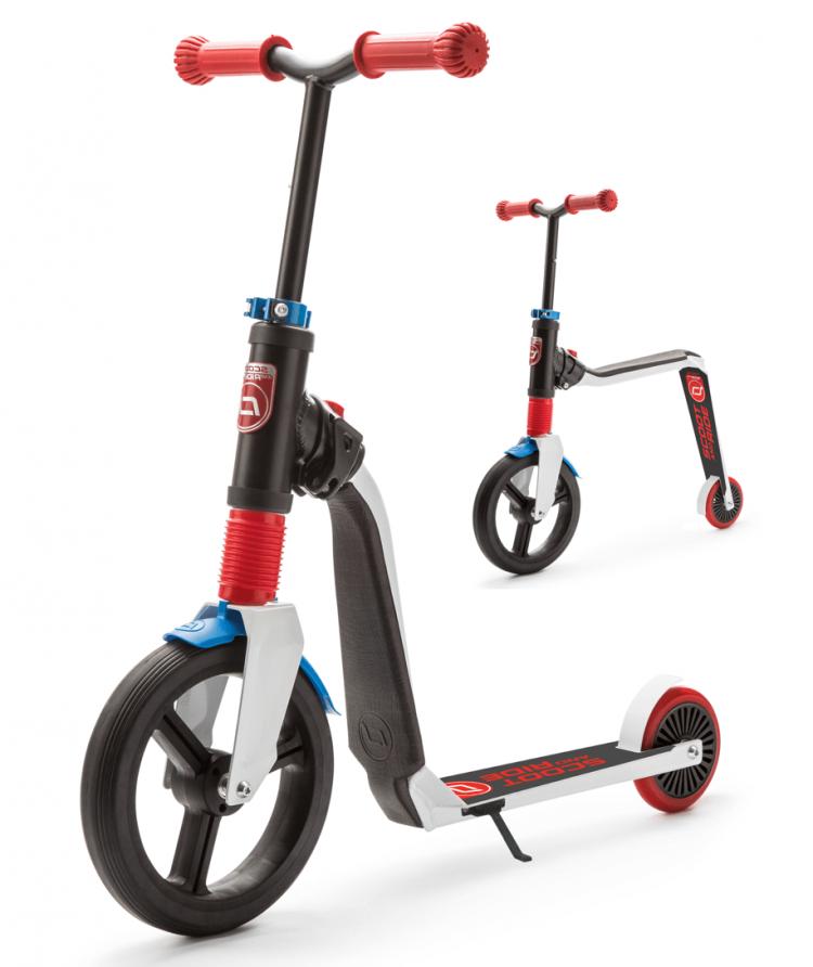 Самокат-беговел Scoot&Ride серии Highwayfreak 3.0, 3-5 лет, до 50 кг (SR-202310-WHITE-RED-BLUE)