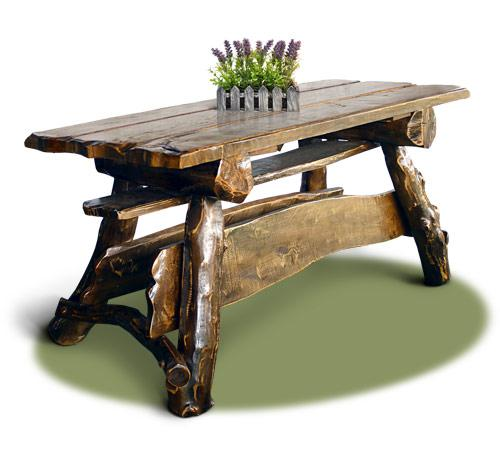 Столы деревянные для дома, сада, кафе