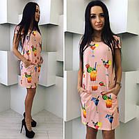 Платье женское цвета пудры от YuLiYa Chumachenko, фото 1