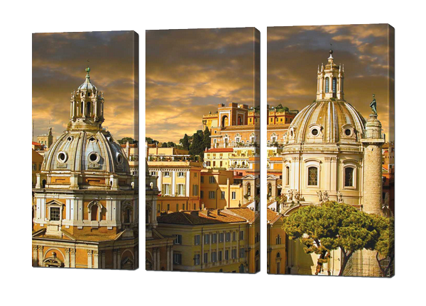 Модульная картина Римские улицы