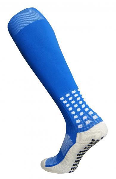 Гетры Europaw с трикотажным носком (голубые) СJM610