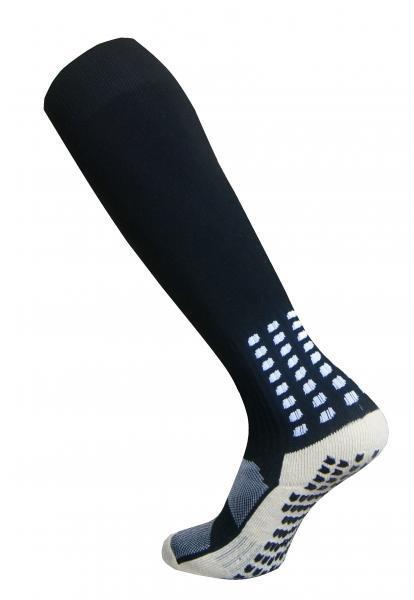 Гетры Europaw с трикотажным носком (черные) СJM610
