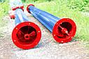 Шнек в сборе без двигателя диаметр - 220 мм, длинна - 12 м, фото 4