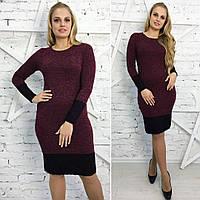 Женское платье бордового цвета от YuLiYa Chumachenko, фото 1